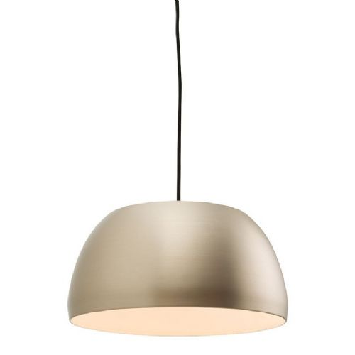 Matt nickel plate Pendant Light 61320 by Endon